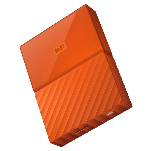 Western Digital My Passport Hard Drive 2TB Orange WDBS4B0020BOR