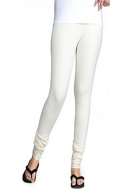 White Coloured Legging