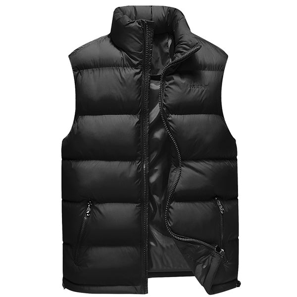 Winter Waterproof Windproof Light Weight Warm Sleeveless Padded Vest