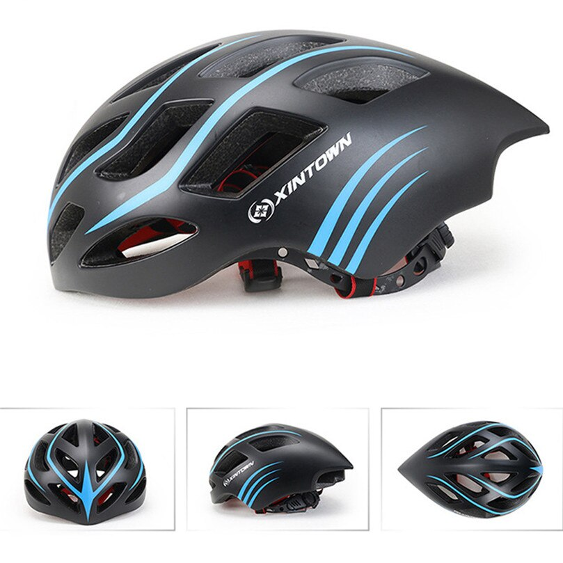XINTOWN bike helmet Ultralight Cycling Helmet Integrally-molded Bike Bicycle Helmets MTB Road Riding Safety Hat Equipment &4s23