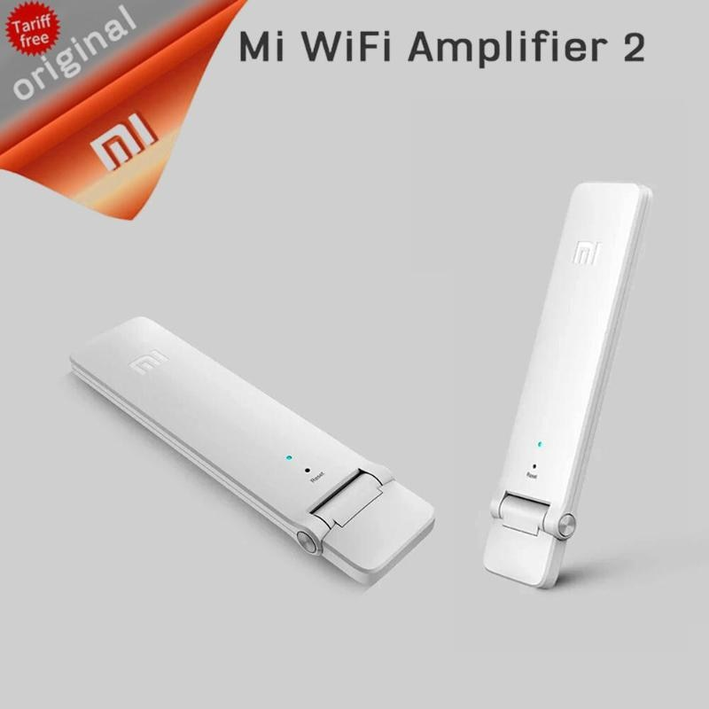 Xiaomi USB WiFi مكرر 2 WiFi Signal Booster Universal Built-in 300Mbps 16 Devices Amplifier Extender 2 for Xiaomi Smart Home