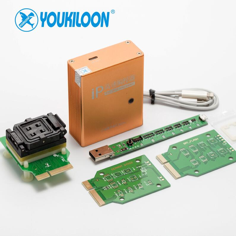 YOUKILOON IP box 3 high speed programmer for phone pad hard disk programmers4s 5 5c 5s 6 6plus memory upgrade tools 16g to128gb