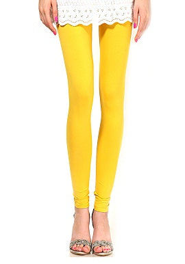 Yellow Coloured Legging
