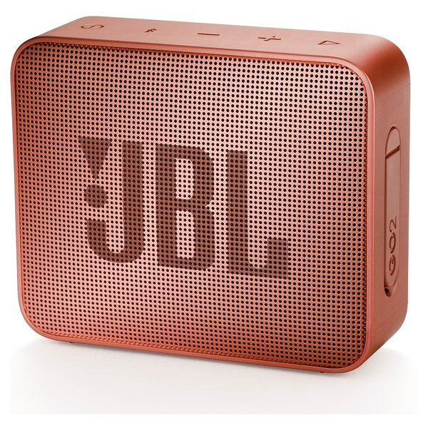 JBL GO2 Portable Bluetooth Speaker Cinnamon