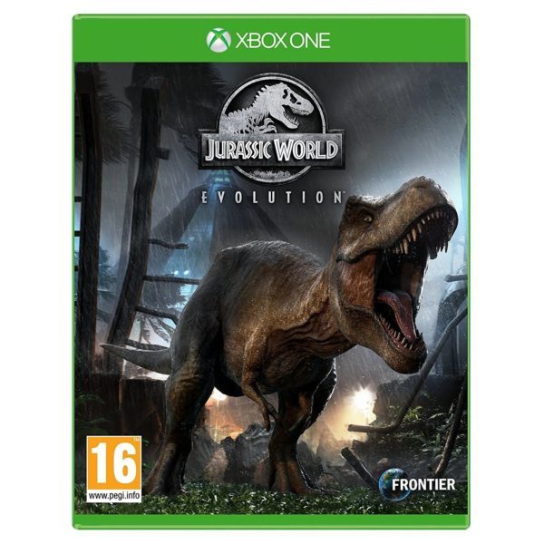 Xbox Games - Xbox One Jurassic World Evolution Game | Buy online in Bahrain