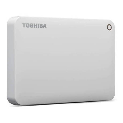 Toshiba Canvio Advance Hard Drive 2TB White HDTC920EW3AA