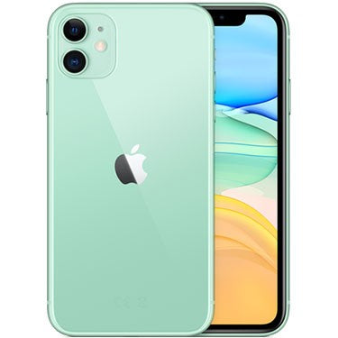 Apple iPhone 11 - 128GB Dual Sim with Facetime - Green
