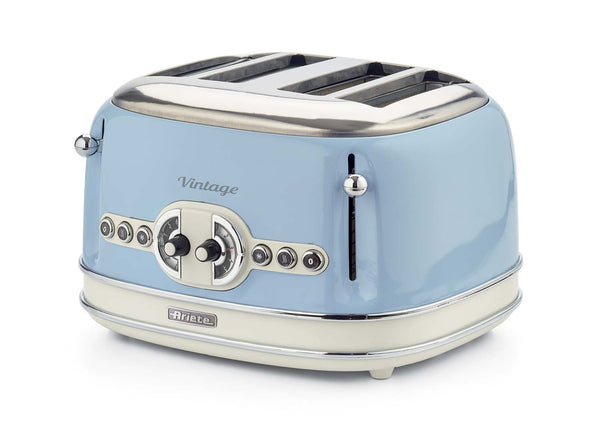 Ariete Toaster 4 Slice 0156Tp Cream/Blue