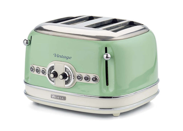 Ariete Toaster 4 Slice 0156Tp Cream/Green