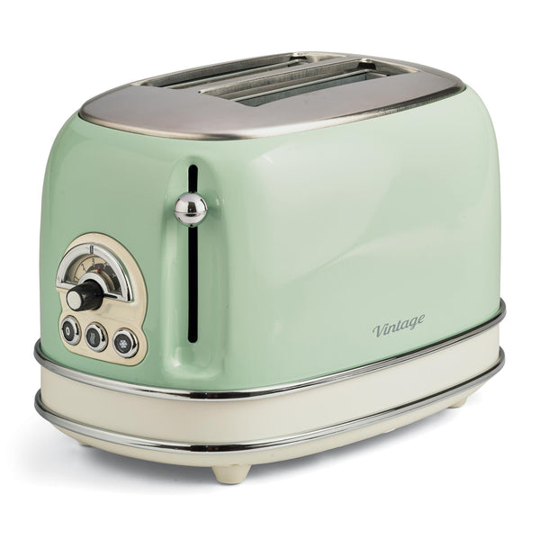 Ariete Toaster 2 Slice 0155Tp Cream/Green