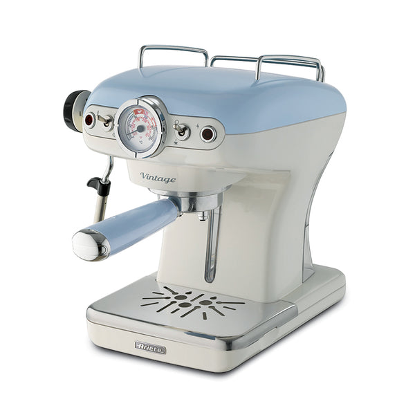 Ariete Coffee Maker Espresso 1389Acaf Cream/Blue