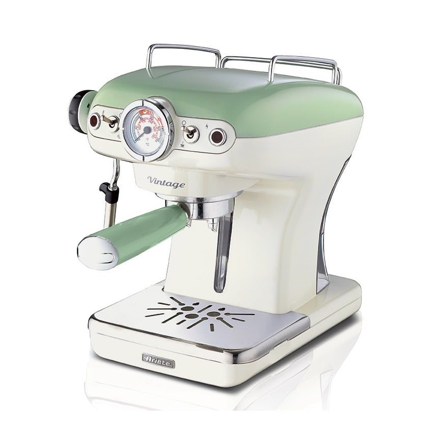Ariete Coffee Maker Espresso 1389Acaf Cream/Green