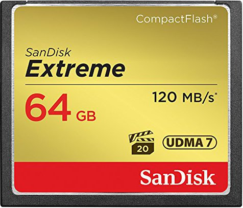 Sandisk SDCFXSB064GG46 Extreme Compact Flash 64GB