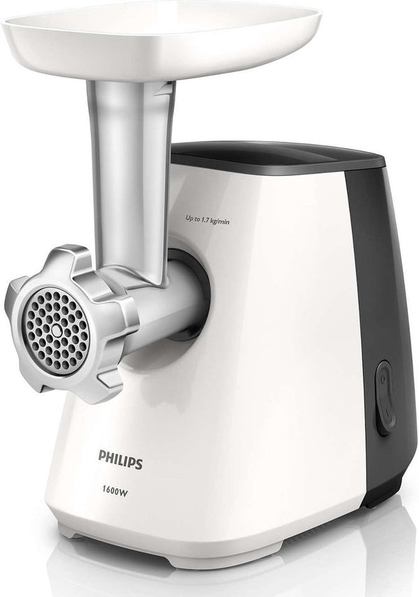 Philips Meat Mincer Black & White HR271331
