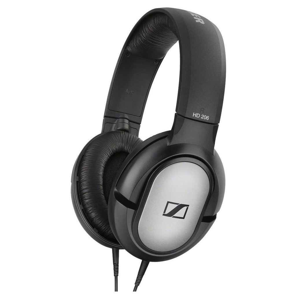 Sennheiser 507364 HD 206 Headphone Silver