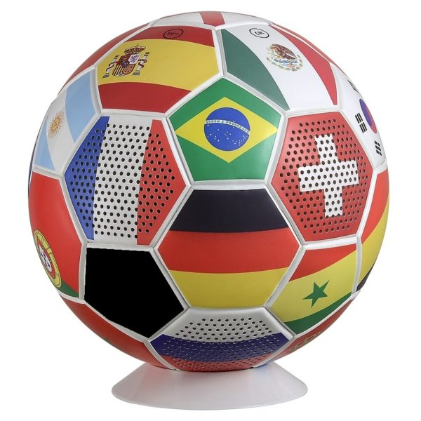 Eklasse EKBTSP20MI Bluetooth Football Speaker With National Flags