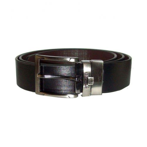 Seasons Black Leather Formal Belts