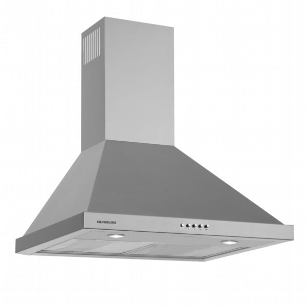 Silverline 60Cm Chimney Hood