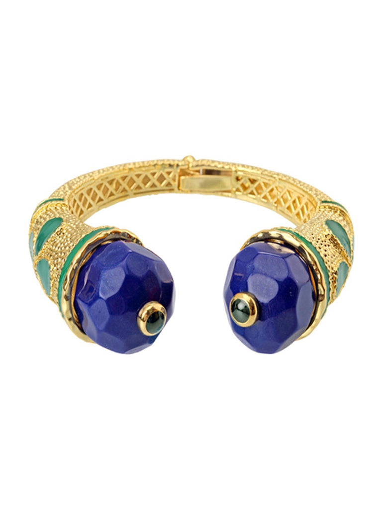 Blue Cathedral Bangle