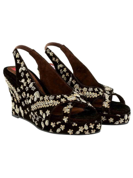 Brown Rudra Wedges