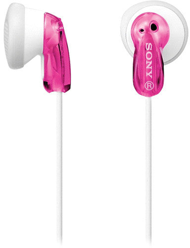 Sony In Ear Headphone Pink MDRE9LP