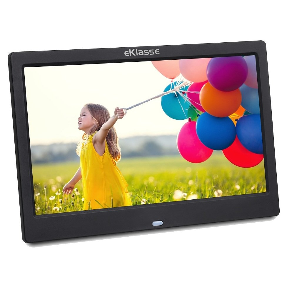 Eklasse EKDPF1003XM Multi Media Digital Photo Frame 10.1inch Black