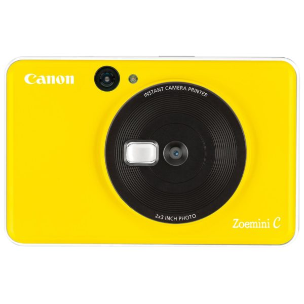 Canon ZOEMINI C Instant Camera With Printer Bumble Bee Yellow