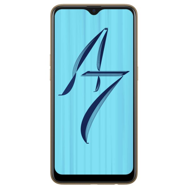 Oppo A7 64GB/4GB RAM Glaring Gold