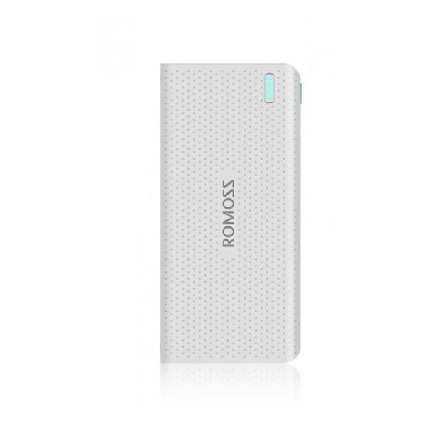 Romoss Power Bank 15000mAh White – SENSE15PHP15