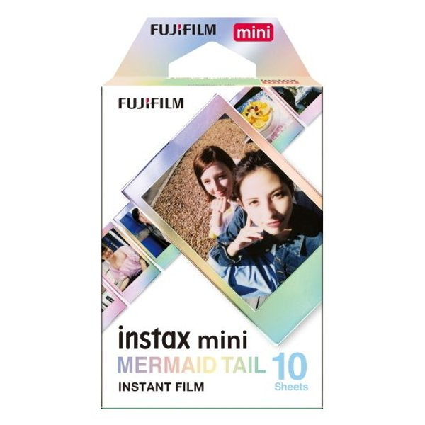 حزمة أفلام Fujifilm INSTAX Mini Mermaid Tail من 10 أوراق
