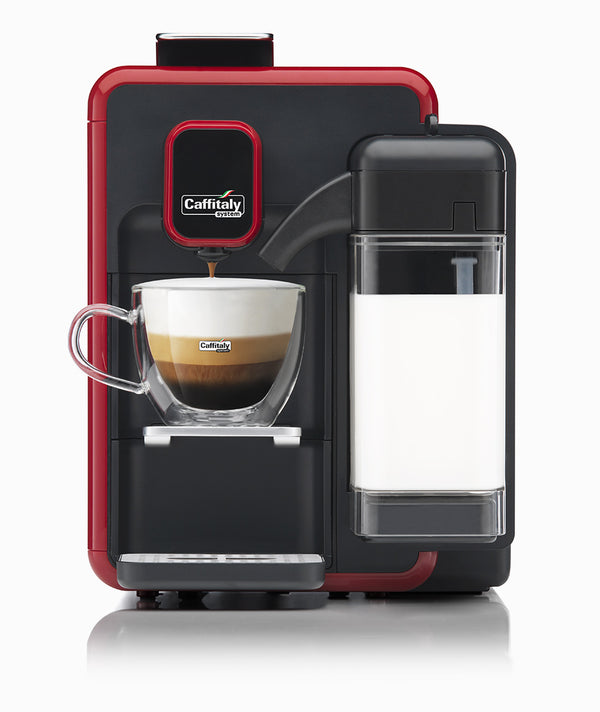 Caffitaly Bianca S22 Black And Red
