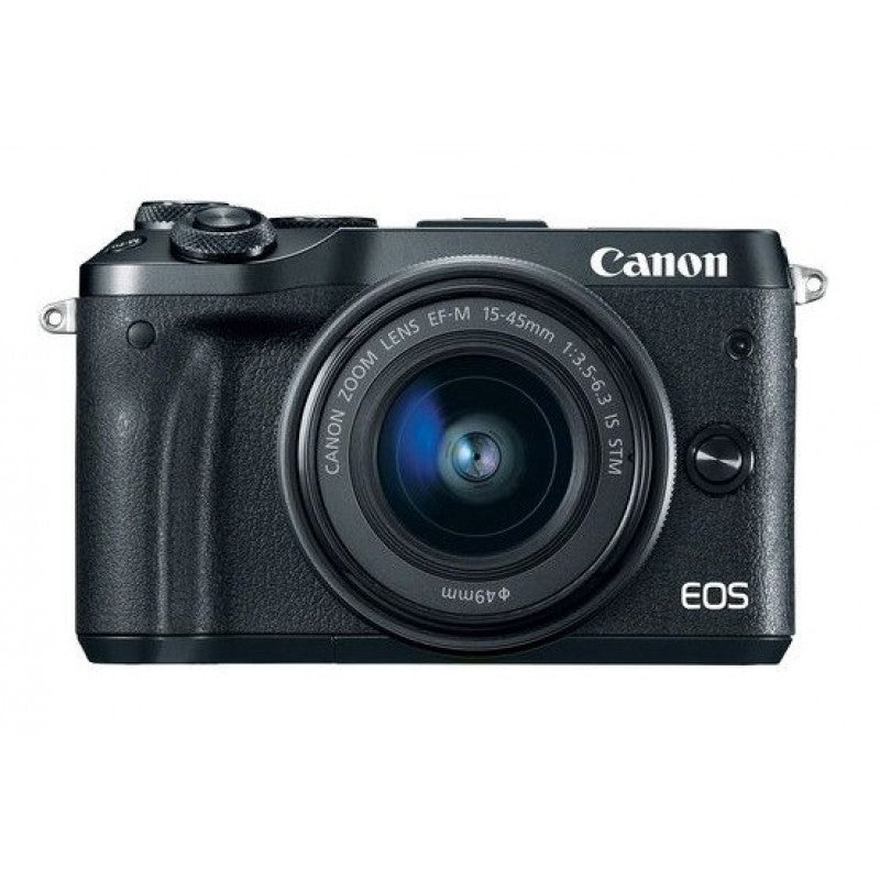 Canon EOS M6 EF-M 15-45mm 24.2 MP Mirror-less Digital Camera