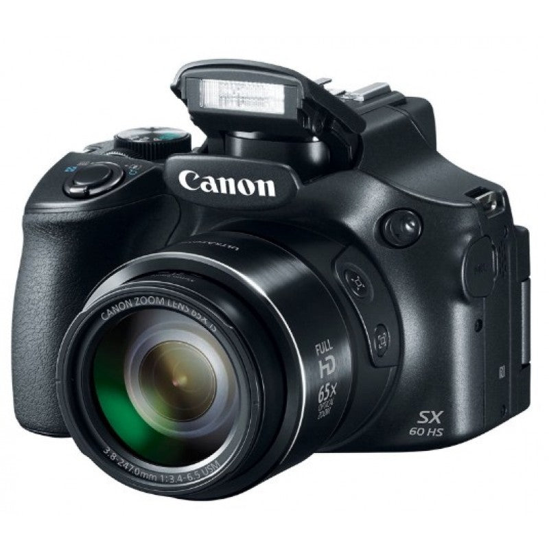 Canon PowerShot SX60 HS 16.1MP with 65x Optical Zoom