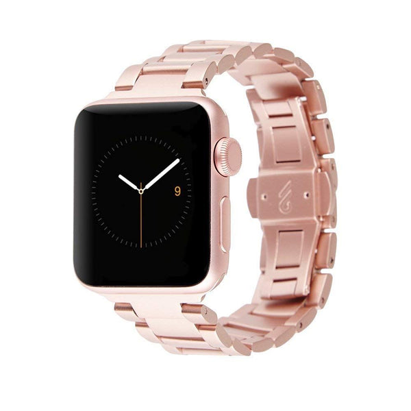 Case Watch Linked Watchband for Apple Watch 38 / 40mm - Rose Gold