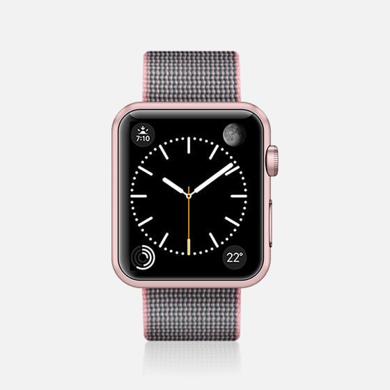 Casetify Apple Watch Band Nylon Fabric All Series 38/40mm - Pink
