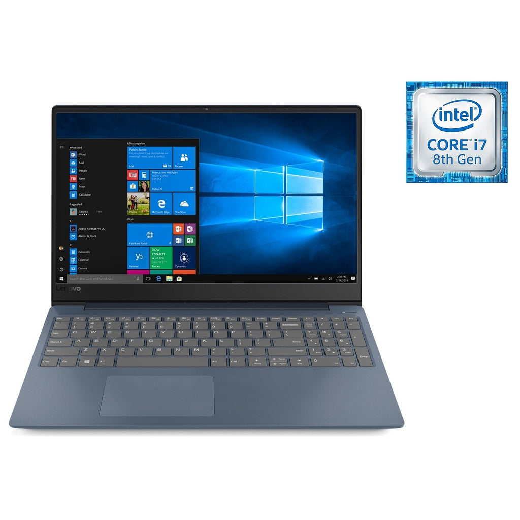 Lenovo Ideapad 330s Laptop - Core i7 1.8GHz 12GB 1TB+128GB 4GB Win10 15.6inch FHD Mid Night Blue