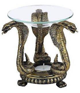 Home Decor -Tealight Holder-Snakes