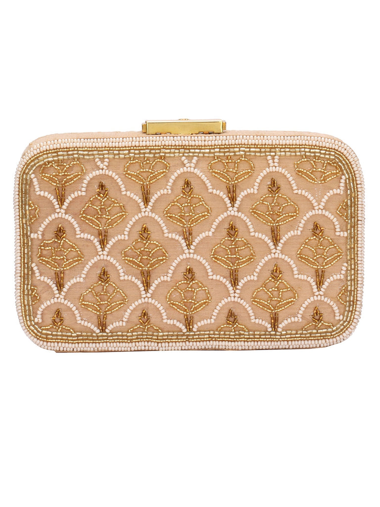 Cho Gold Clutch