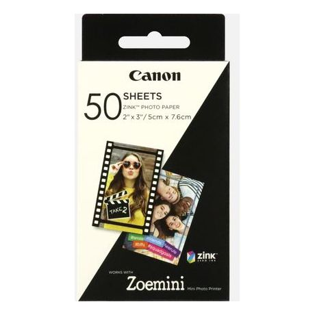 Canon ZP2030 Zink Photo Paper 50 Sheets
