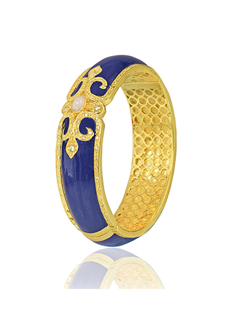Dark Blue Vintage Bangle