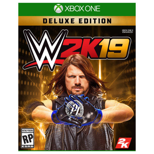Xbox Games - Xbox One WWE 2K19 Deluxe Edition Game | Buy online in Bahrain