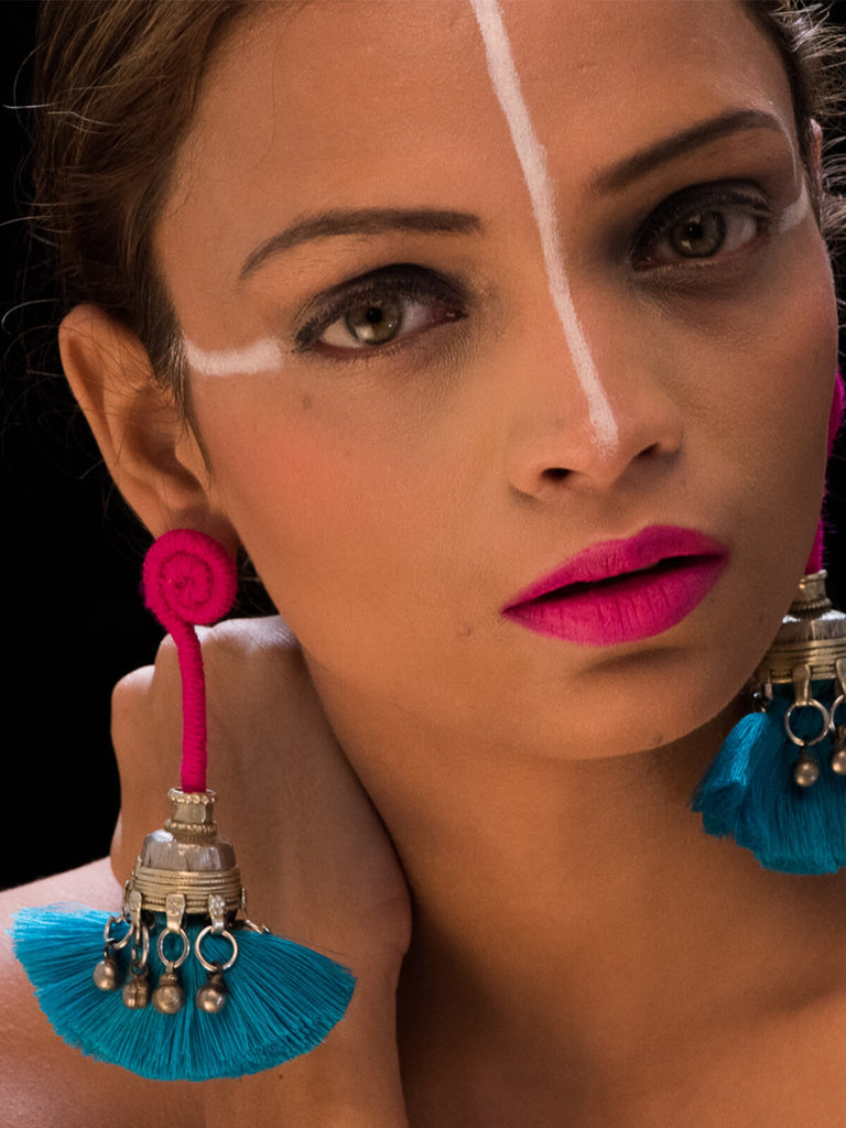 Deewani (pink and blue)