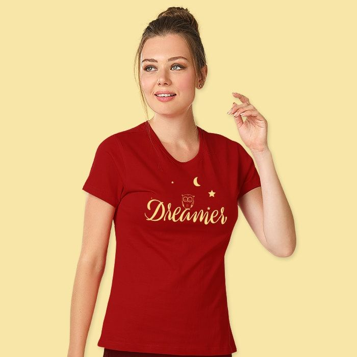 Day Dreamer T-Shirts For Girls