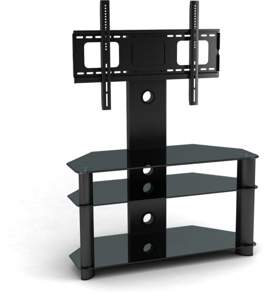 Hama TV Stand W/Wall Bracket & Shelves 32-65inch Black D3096067