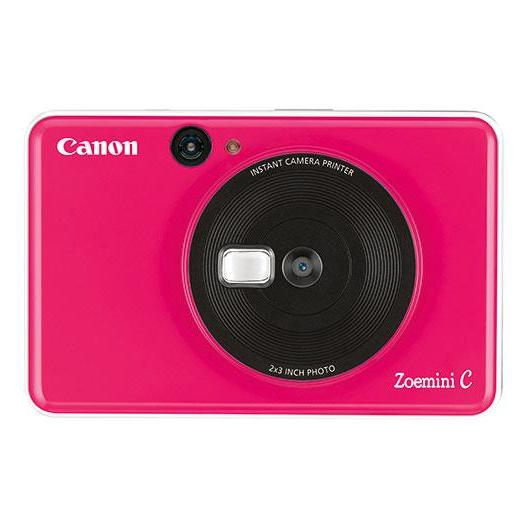 Canon ZOEMINI C Instant Camera With Printer Bubble Gum Pink