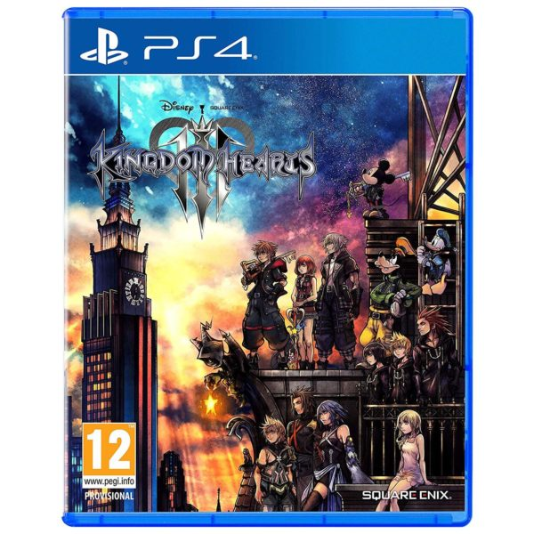 PlayStation Games - PS4 Kingdom Hearts 3.0 Standard Edition Game | Buy online in Bahrain