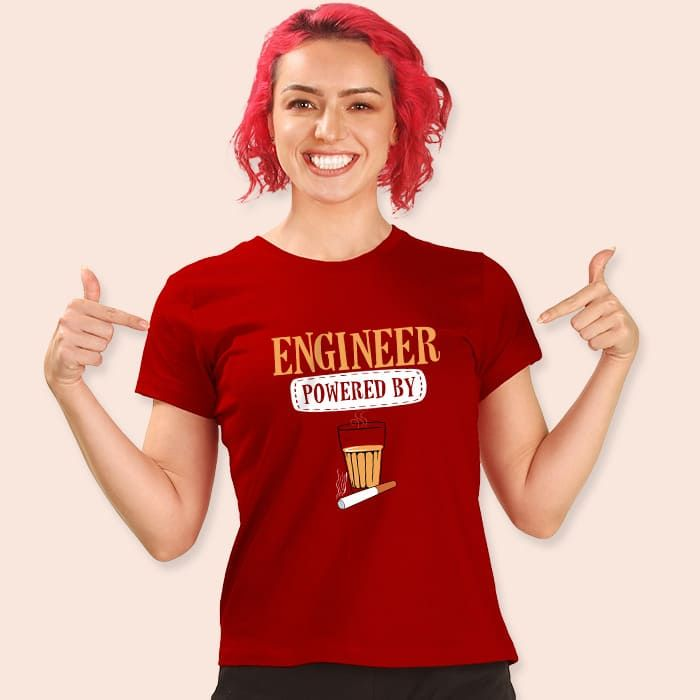 Engineer Doze Women'S Printed T Shirts