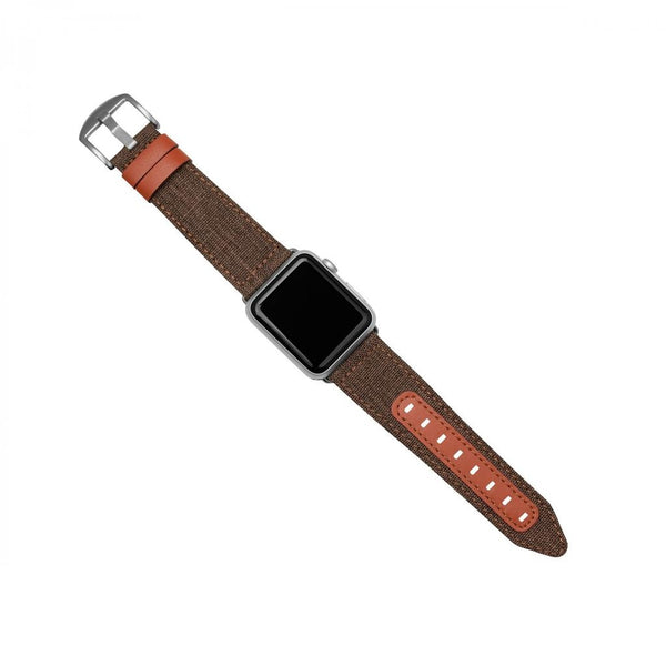 Evutec Northill Apple Watch Band 42/44mm - Brigandine/Lava
