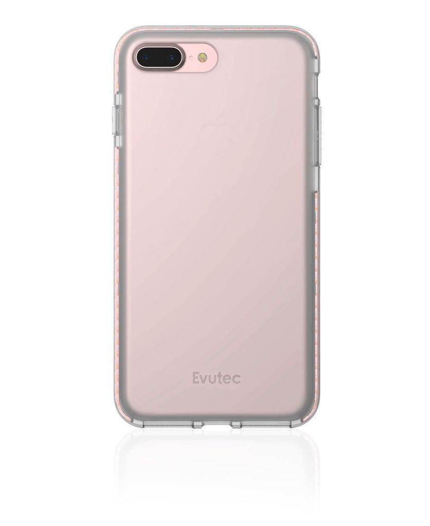 Evutec Selenium Series for iPhone 7/8 Plus - Clear/Rose Gold