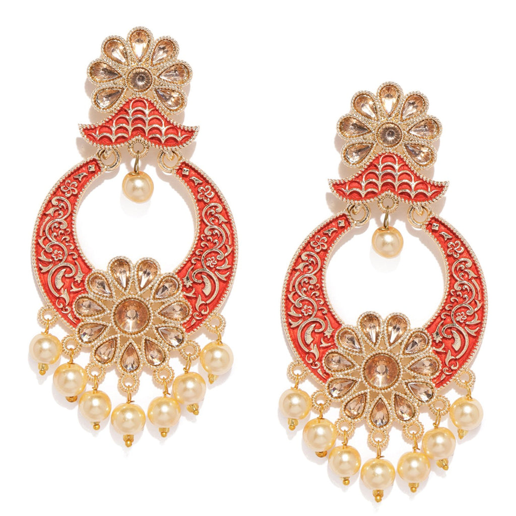 Sukkhi Pretty Mint Collection Gold Plated Earring For Women